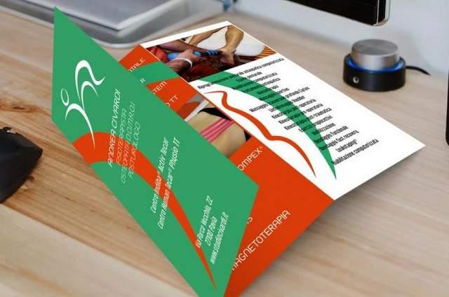 Brochure marketing sanitario